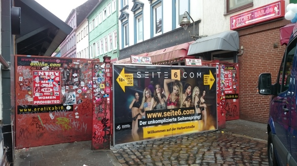 Herbertstraße Eingang Gerhardstraße Hamburg